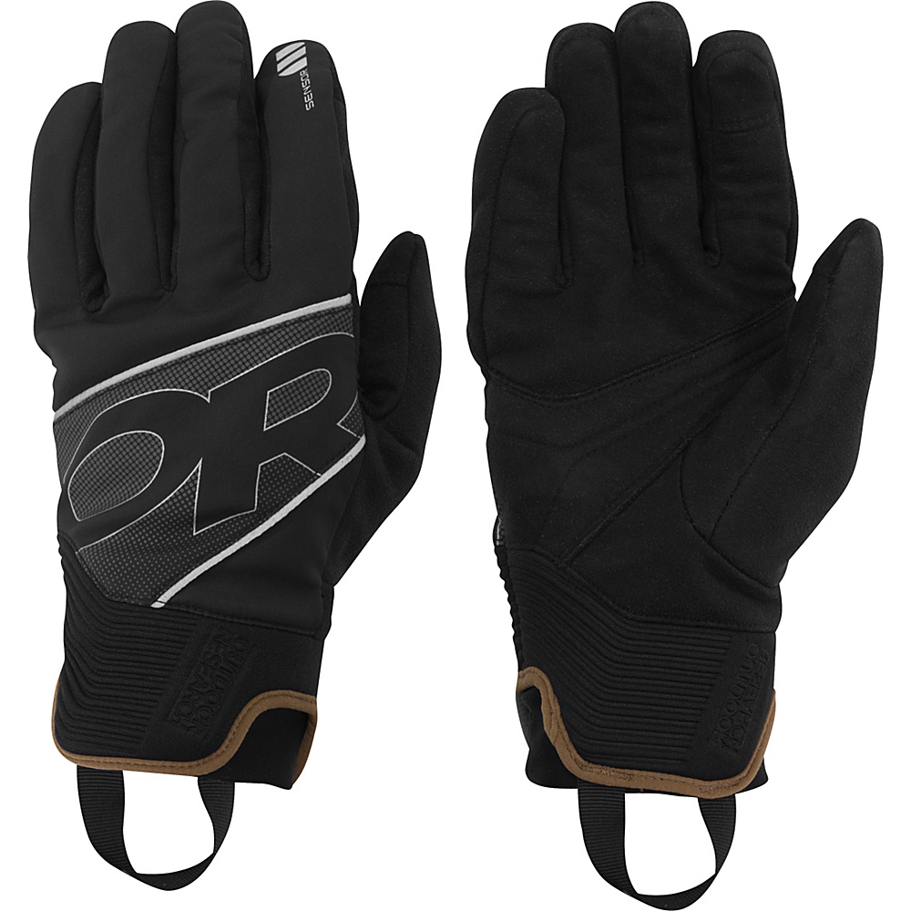 Outdoor Research Afterburner Gloves XL - Black - Outdoor Research Hats/Gloves/Scarves - Fashion Accessories, Hats/Gloves/Scarves