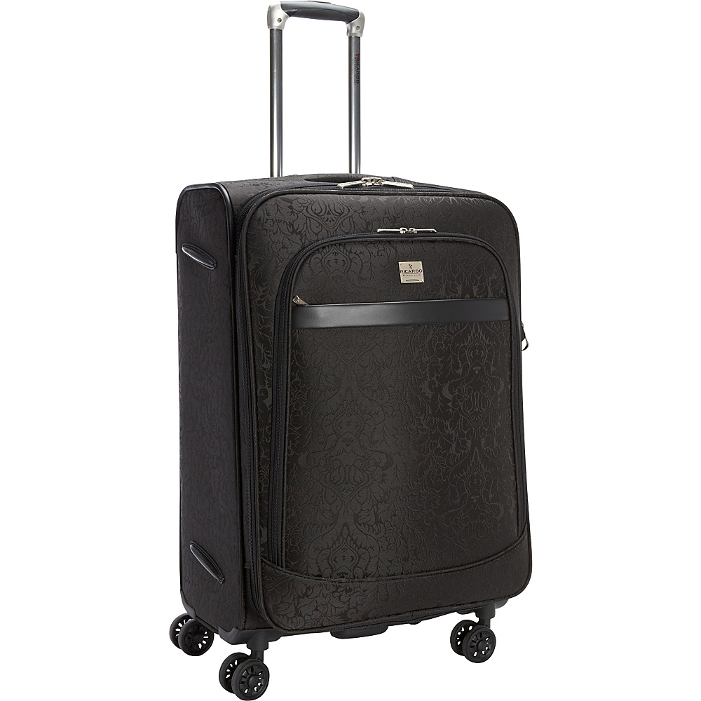 Ricardo Beverly Hills Imperial 24 4 Wheel Expandable Spinner Black Ricardo Beverly Hills Softside Checked