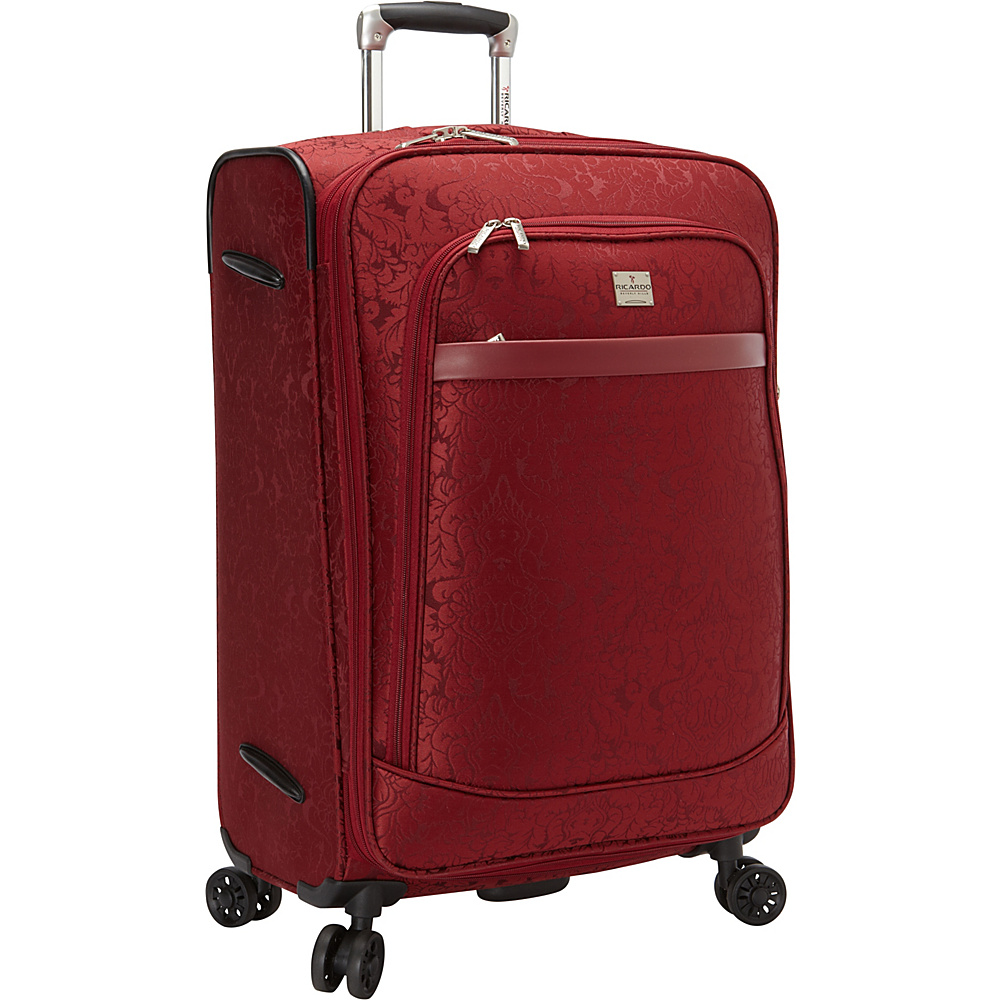 Ricardo Beverly Hills Imperial 24 4 Wheel Expandable Spinner Red Ricardo Beverly Hills Softside Checked