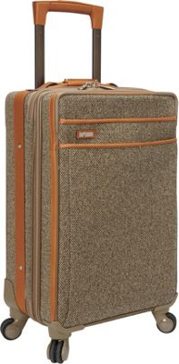 Hartmann Luggage Tweed Collection 22 inch Carry-On Expandable Spinner Tweed - Hartmann Luggage Softside Carry-On