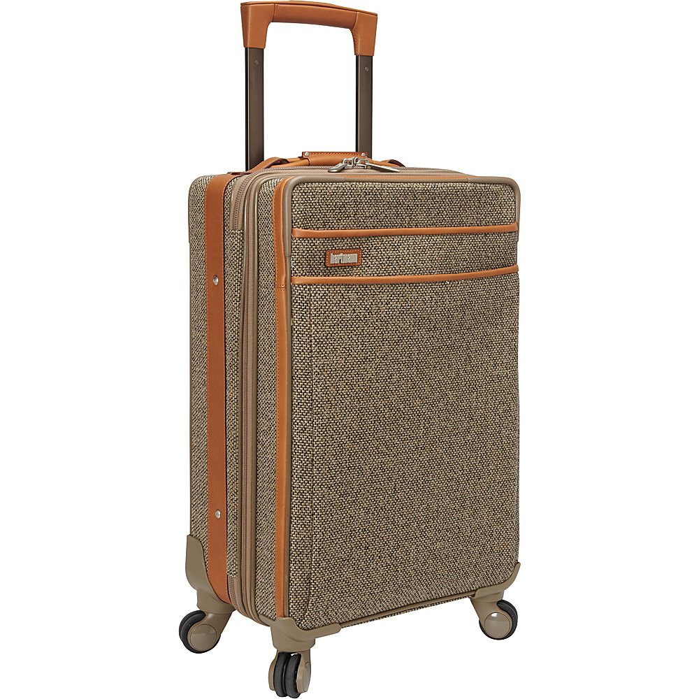 Hartmann Luggage Tweed Collection 22 Carry On Expandable Spinner Tweed Hartmann Luggage Softside Carry On