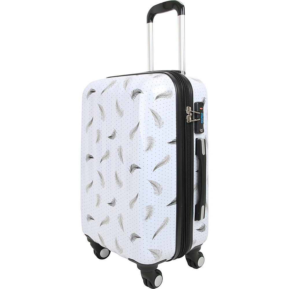 J World New York Art Luggage Feather - J World New York Kids Luggage - Luggage, Kids' Luggage