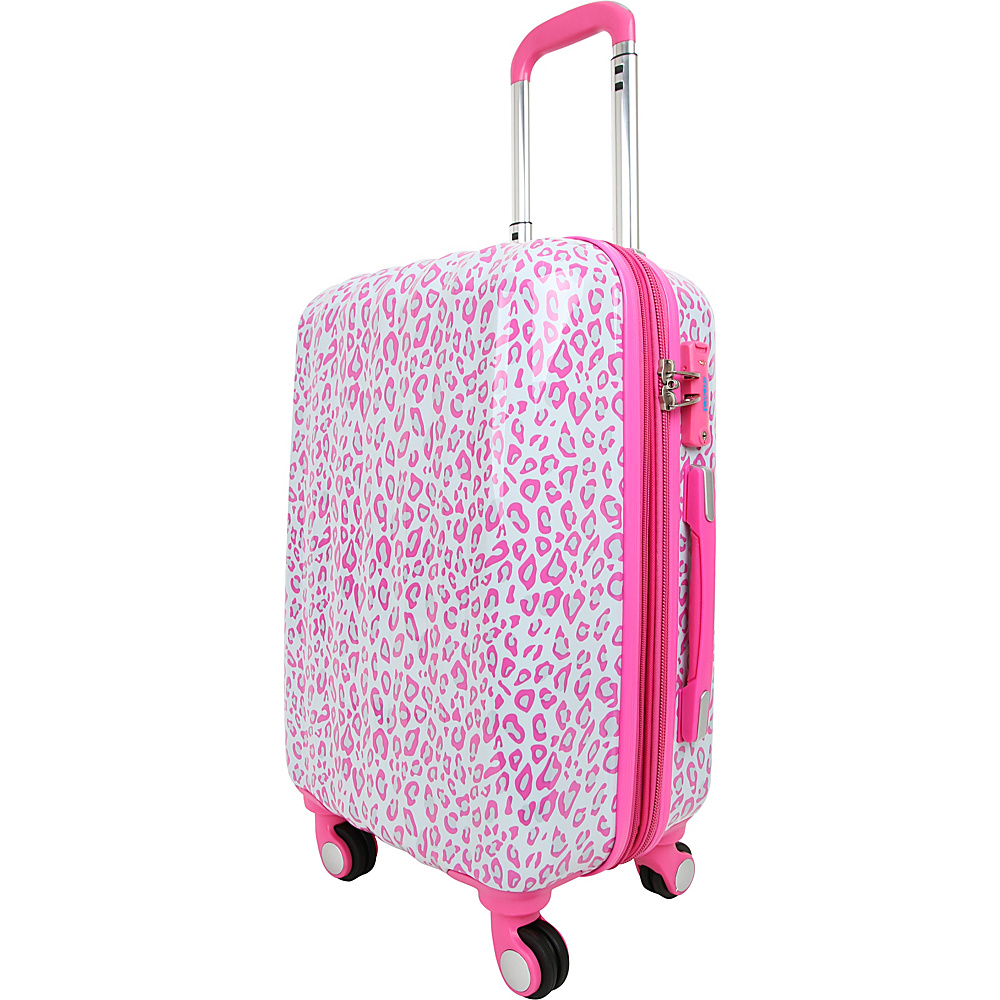 J World New York Art Luggage Leopard - J World New York Kids Luggage - Luggage, Kids' Luggage