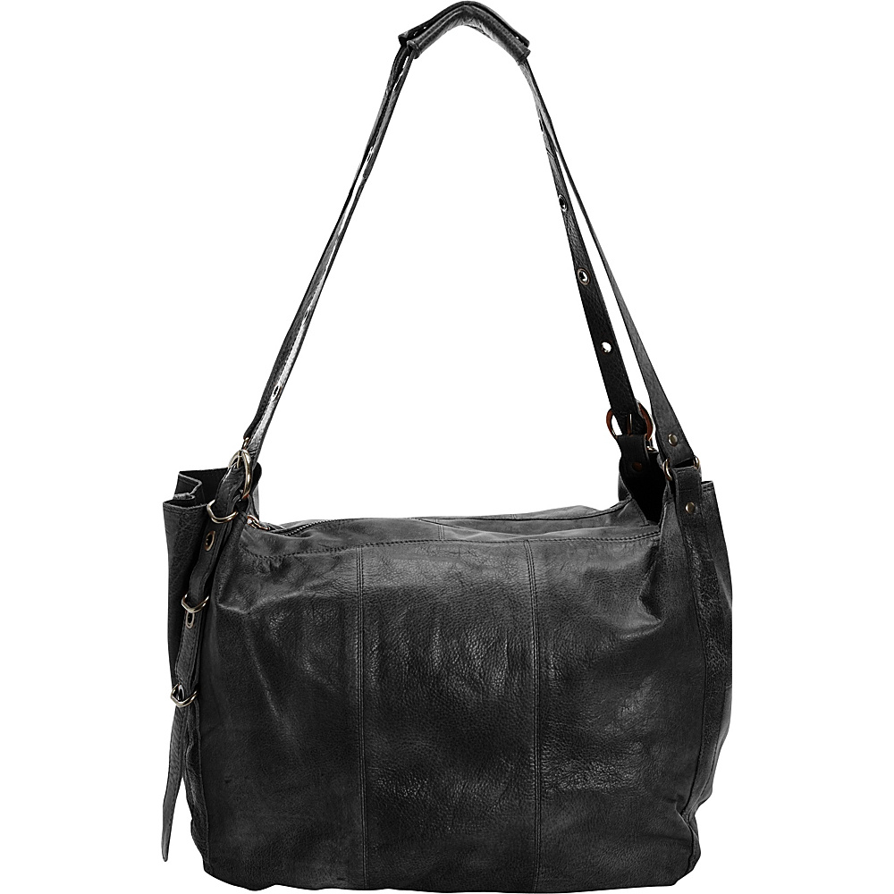 Latico Leathers Reade Shoulder Bag Black - Latico Leathers Leather Handbags - Handbags, Leather Handbags
