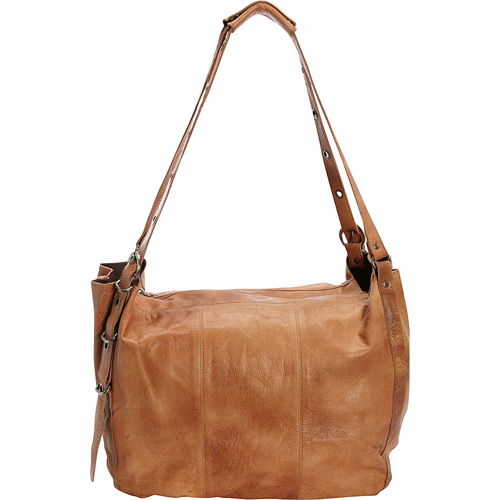 Latico Leathers Reade Shoulder Bag Tan - Latico Leathers Leather Handbags - Handbags, Leather Handbags