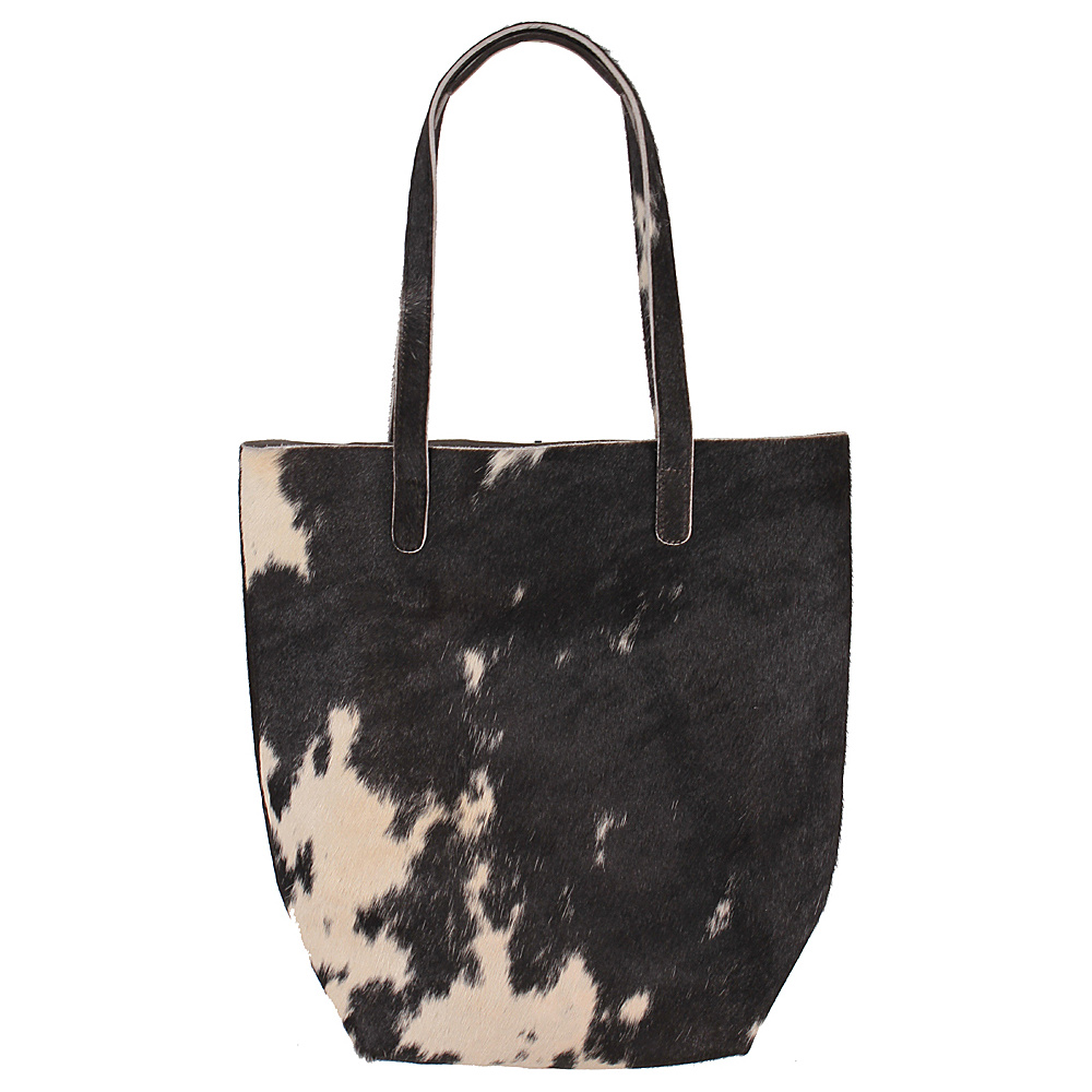 Latico Leathers Graham Tote Black/White - Latico Leathers Leather Handbags - Handbags, Leather Handbags