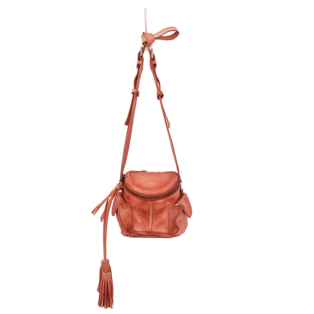 Latico Leathers Clover Crossbody Washed Red - Latico Leathers Leather Handbags - Handbags, Leather Handbags