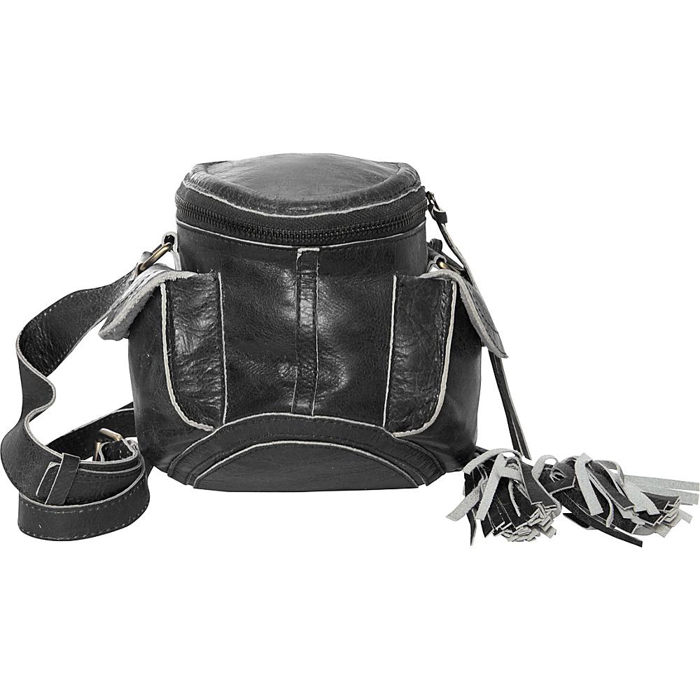Latico Leathers Clover Crossbody Washed Black - Latico Leathers Leather Handbags - Handbags, Leather Handbags