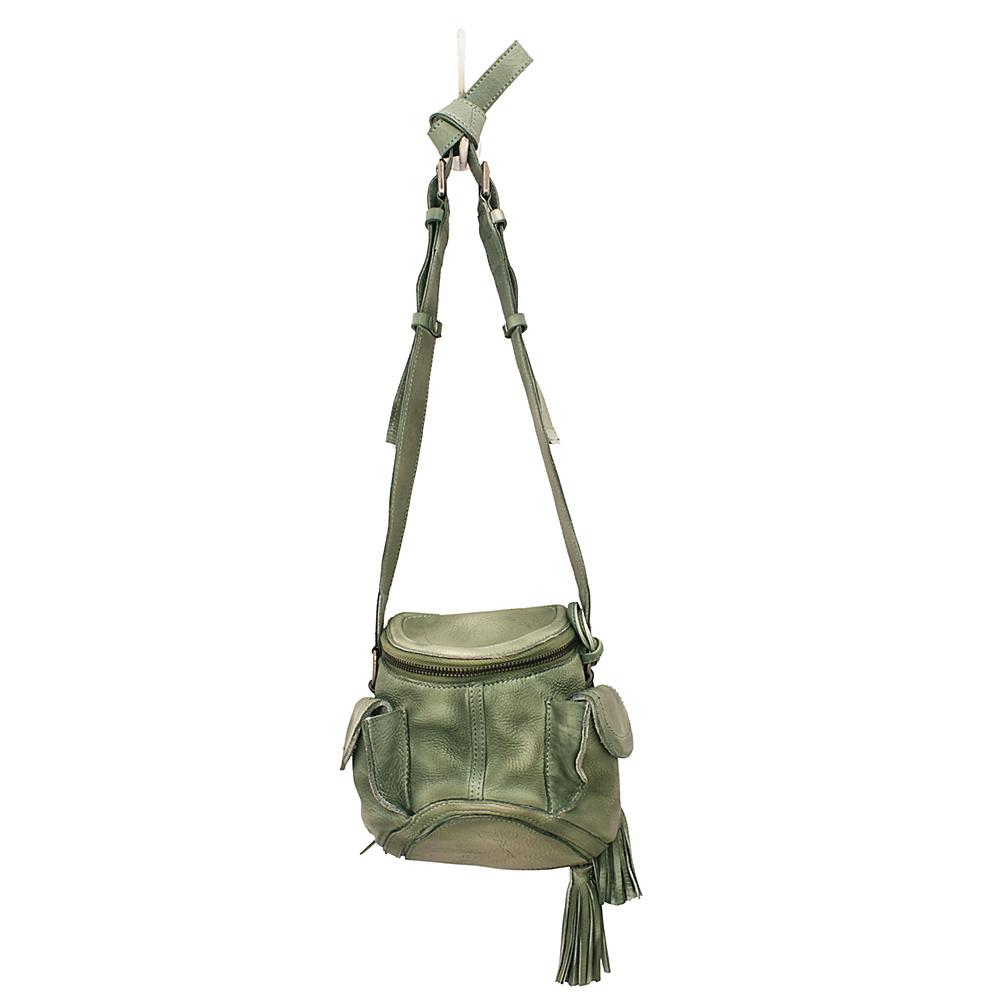 Latico Leathers Clover Crossbody Washed Green - Latico Leathers Leather Handbags - Handbags, Leather Handbags