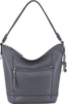 The Sak Sequoia Hobo Slate - The Sak Leather Handbags