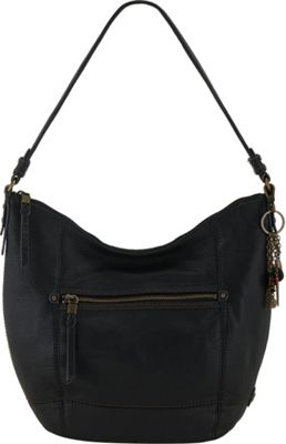 The Sak Sequoia Hobo Black - The Sak Leather Handbags