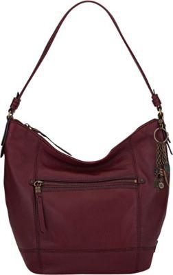 The Sak Sequoia Hobo Cabernet - The Sak Leather Handbags
