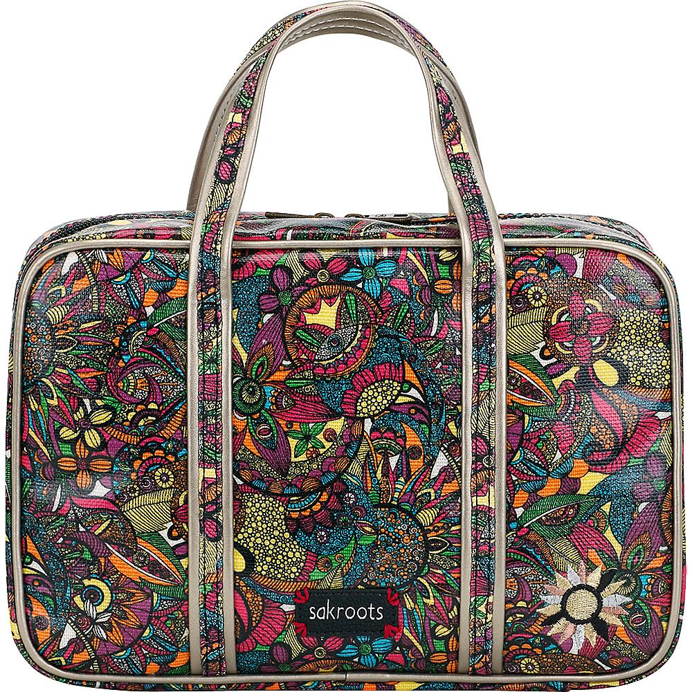 Sakroots Artist Circle Critter Travel Case Rainbow Spirit Desert - Sakroots Toiletry Kits - Travel Accessories, Toiletry Kits