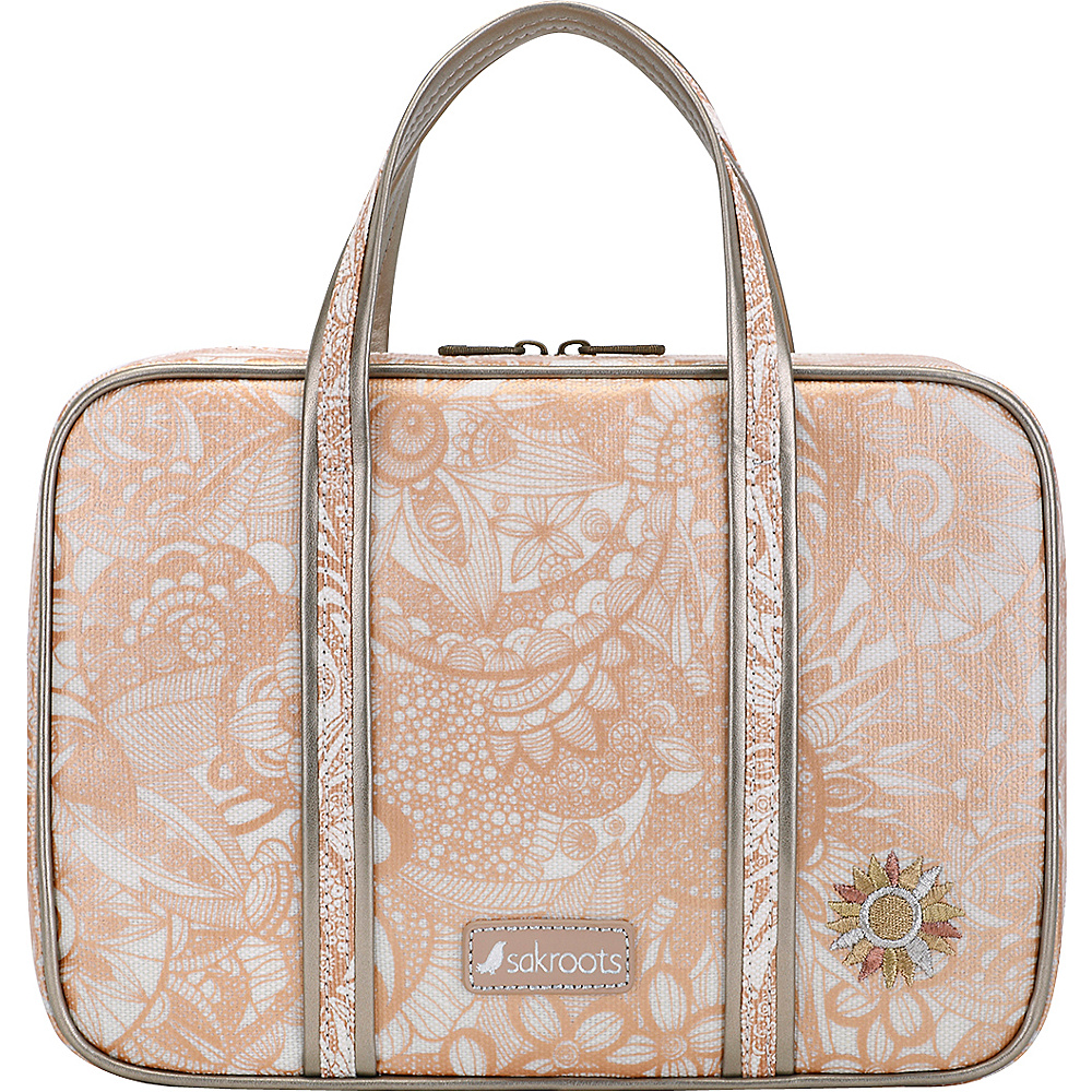 Sakroots Artist Circle Critter Travel Case Rose Gold Spirit Desert - Sakroots Toiletry Kits - Travel Accessories, Toiletry Kits