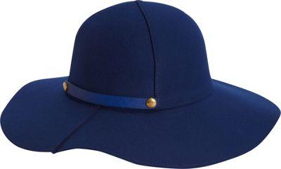 Image of Adora Hats Packable Wool Felt Floppy Hat Royal - Adora Hats Hats