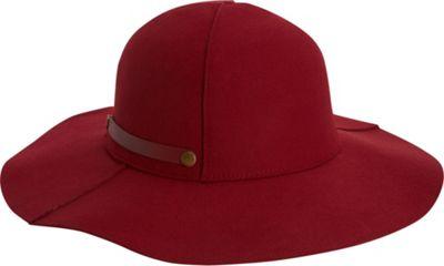 Adora Hats Packable Wool Felt Floppy Hat Burgundy - Adora Hats Hats/Gloves/Scarves