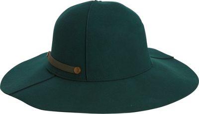 Image of Adora Hats Packable Wool Felt Floppy Hat Hunter Green - Adora Hats Hats