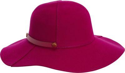 Image of Adora Hats Packable Wool Felt Floppy Hat Purple - Adora Hats Hats