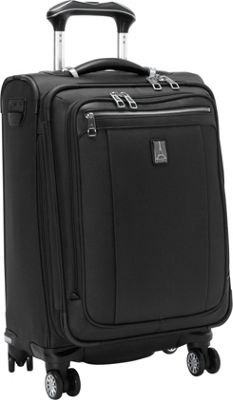 Travelpro Platinum Magna 2 20 inch Business Plus Spinner Black - Travelpro Softside Carry-On