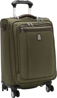 Travelpro Platinum Magna 2 20 inch Business Plus Spinner Olive - Travelpro Softside Carry-On