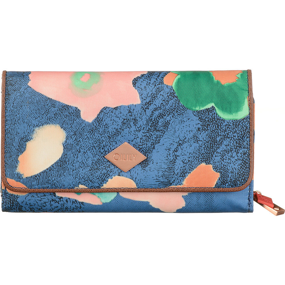 Oilily Large Wallet Blueberry Oilily Women s Wallets