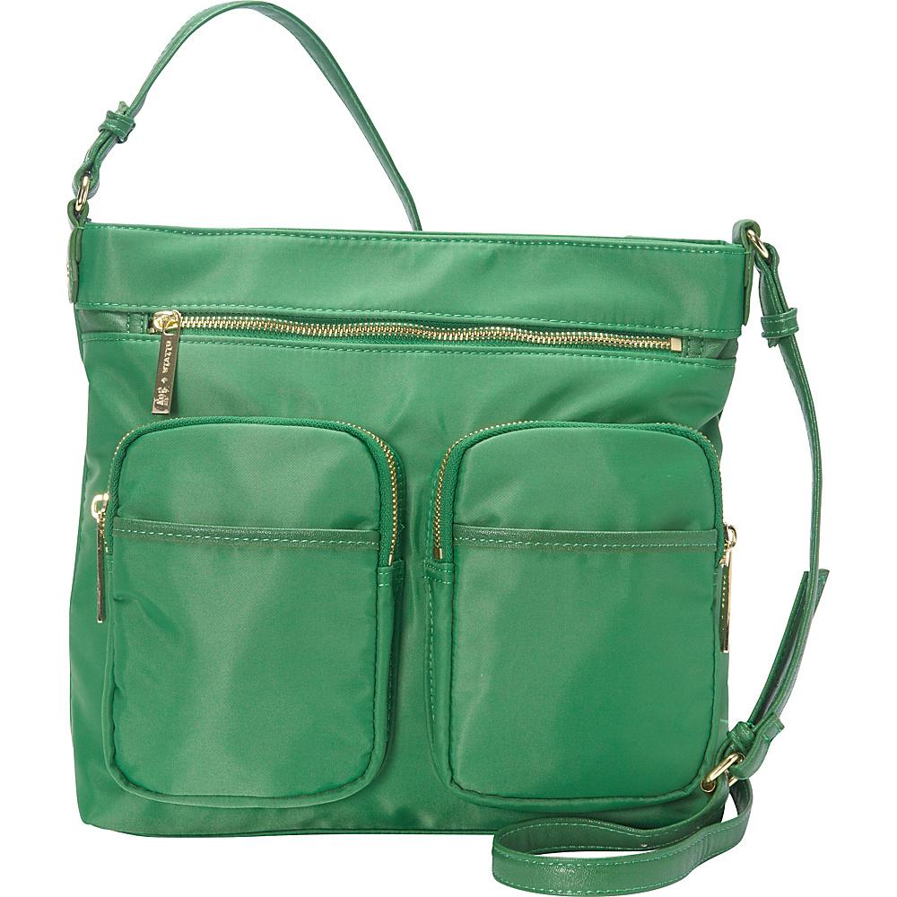 83.30 More Details · Olivia + Joy Zap Zoom Large Crossbody Golf Green -  Olivia + Joy Fabric Handbags 11a1019a59284