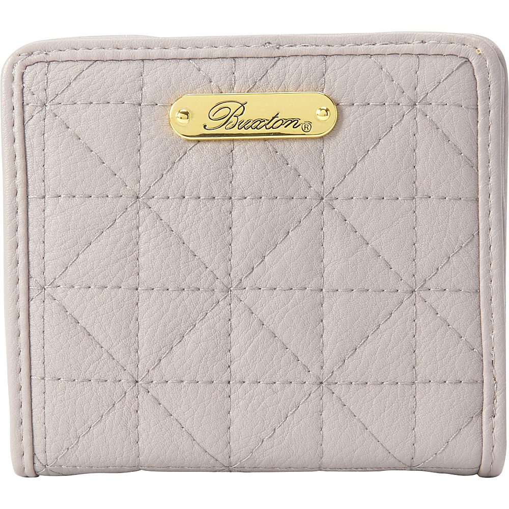 Buxton Double Diamond Quilt Medium Snap Billfold Paloma - Buxton Womens Wallets - Women's SLG, Women's Wallets