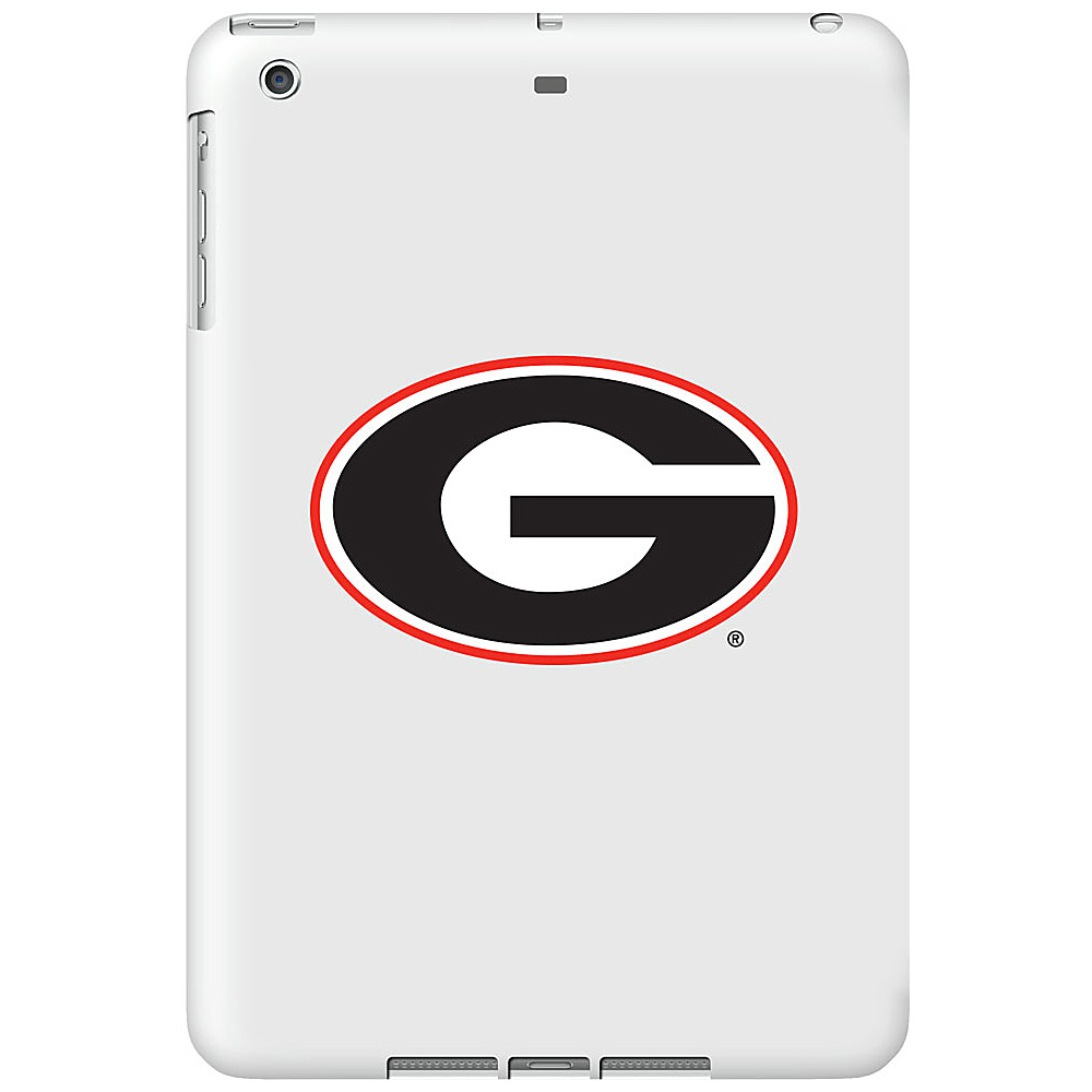 Centon Electronics Glossy White iPad Air Shell Case University of Georgia Centon Electronics Electronic Cases
