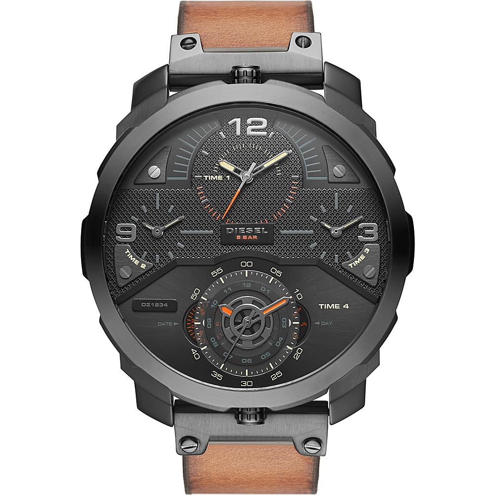Diesel Watches Machinus Watch Black/Brown - Diesel Watches Watches