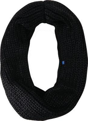 Keds Metallic Coated Knit Infinity Scarf Black - Keds Hats/Gloves/Scarves