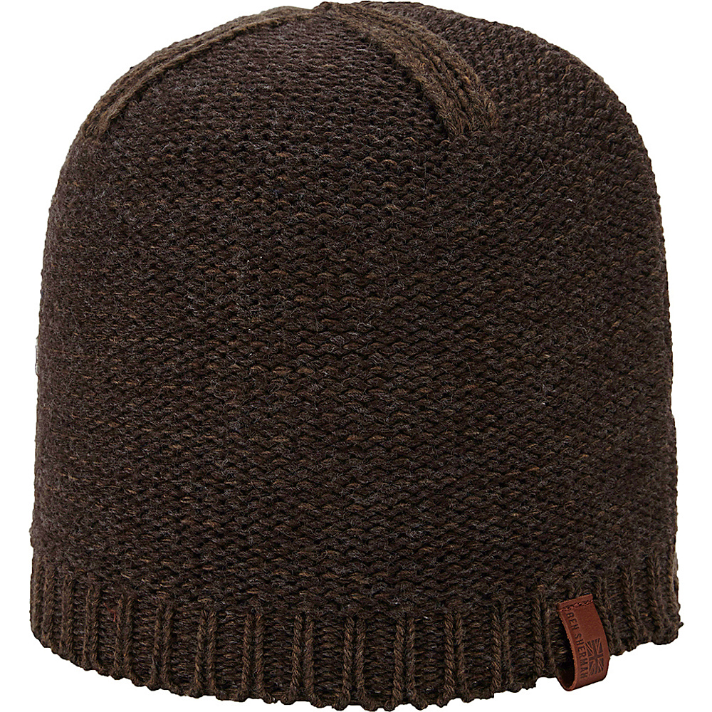 Ben Sherman Two Tone Heathered Slouch Beanie Coffee Ben Sherman Hats Gloves Scarves