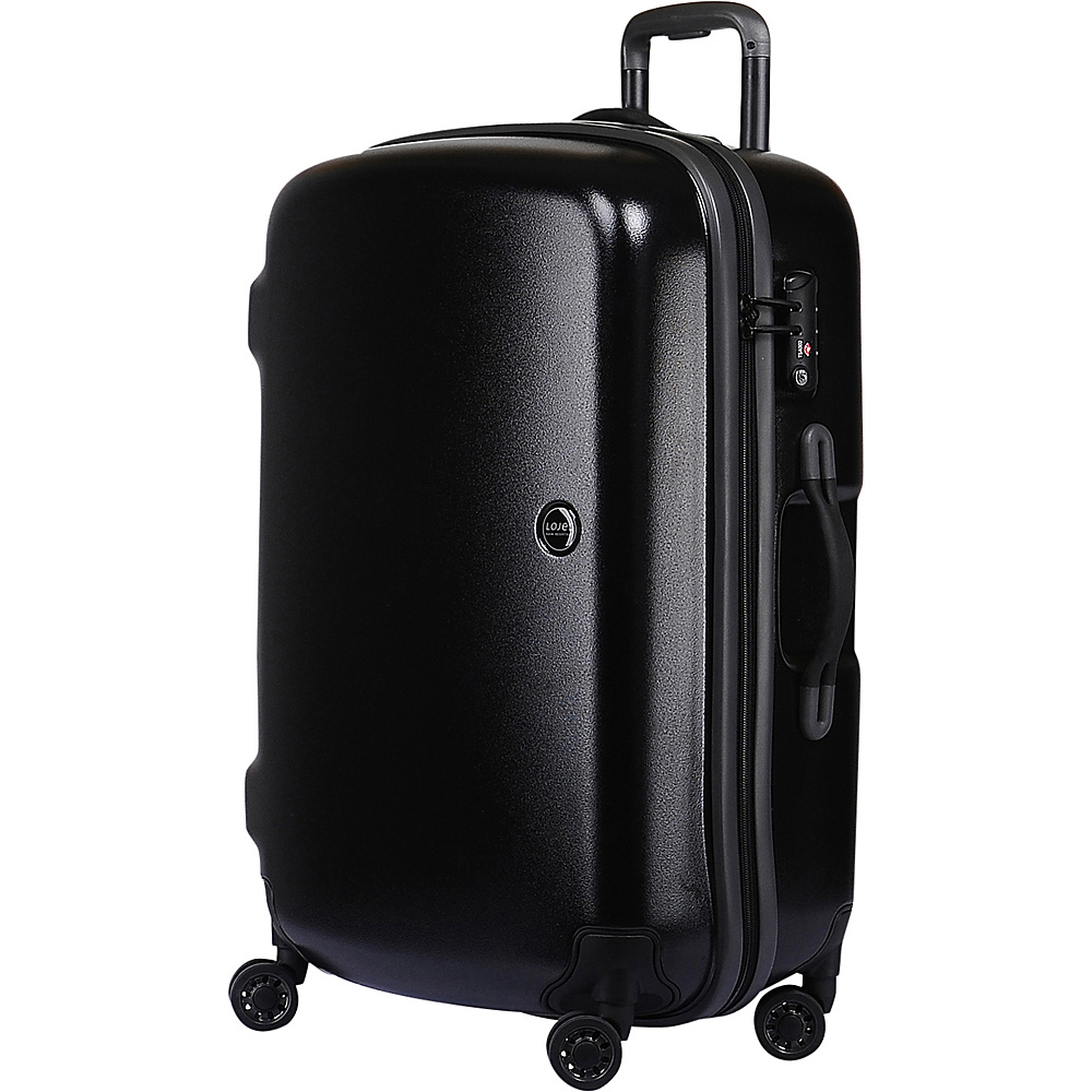 Lojel Nimbus IPX 3 Waterproof Luggage Medium Black gray Lojel Hardside Checked