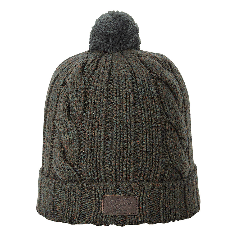 Original Penguin Albert Watchcap with Pom Sycamore Original Penguin Hats Gloves Scarves