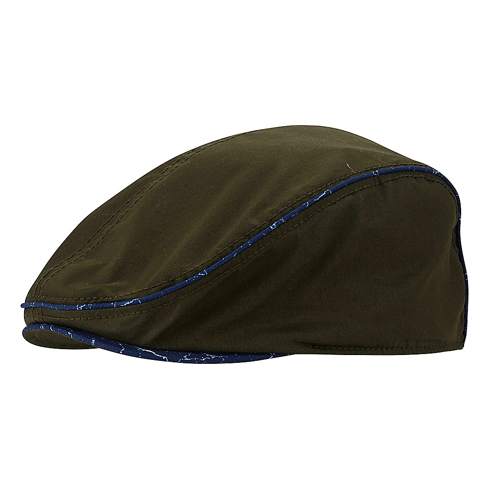 Original Penguin Eugene Driving Cap Chive Original Penguin Hats Gloves Scarves