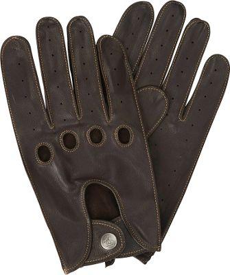 Original Penguin Sheepskin Driving Gloves S - Brown - Original Penguin Hats/Gloves/Scarves