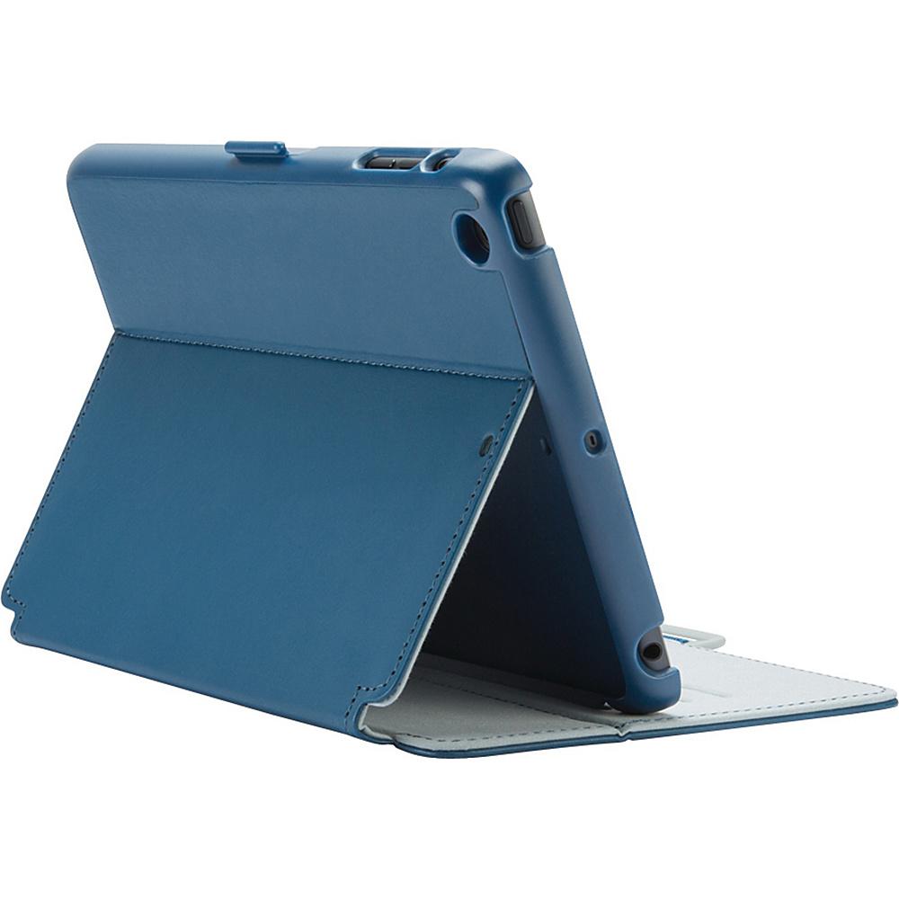 Speck iPad mini iPad mini 2 iPad mini 3 Stylefolio Case Deep Sea Blue Nickel Gray Speck Electronic Cases