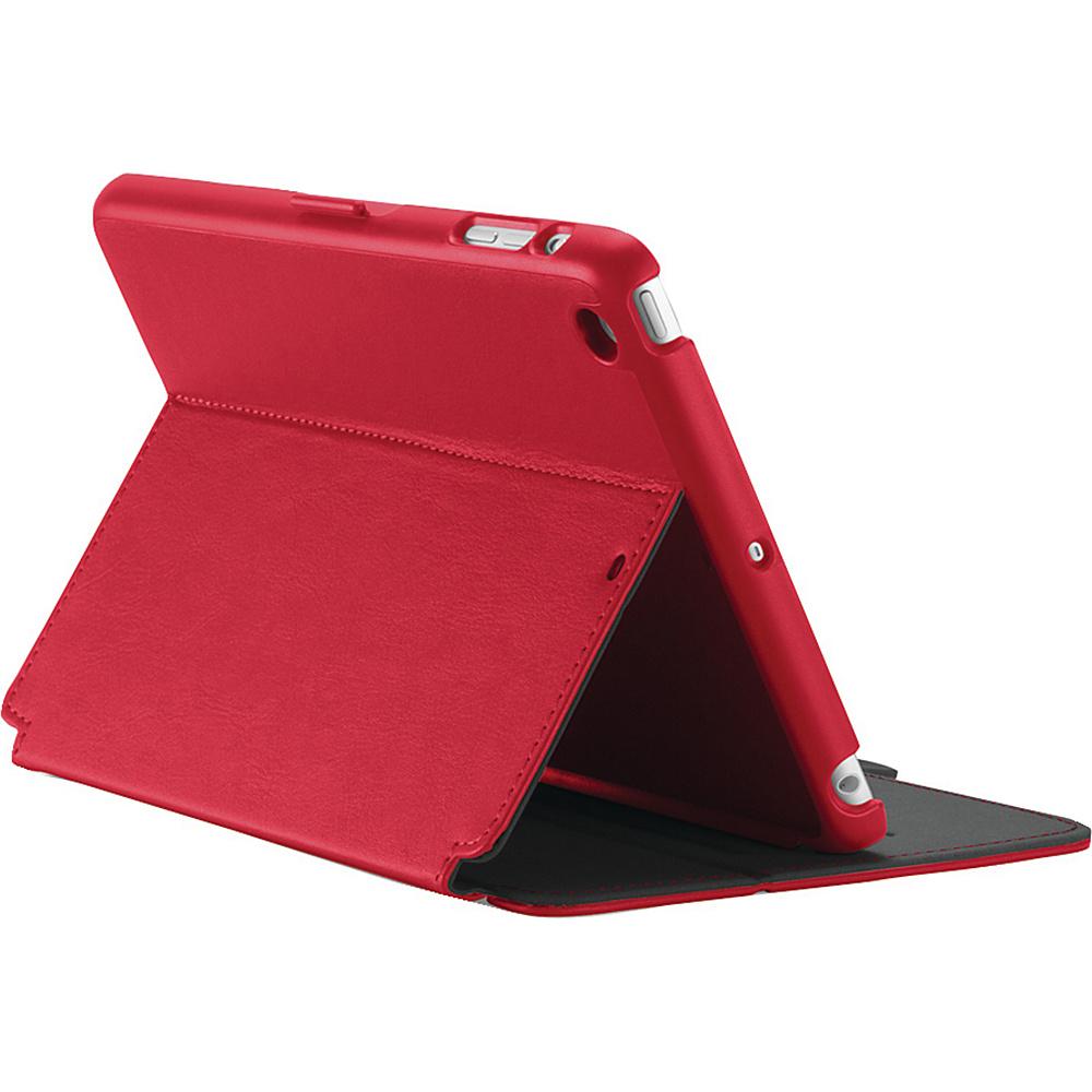 Speck iPad mini iPad mini 2 iPad mini 3 Stylefolio Case Dark Poppy Red Slate Gray Speck Electronic Cases