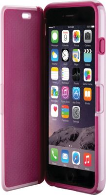 Speck iPhone 6 Plus Candyshell Wrap Case Pale Rose Pink/Cabernet Red - Speck Personal Electronic Cases