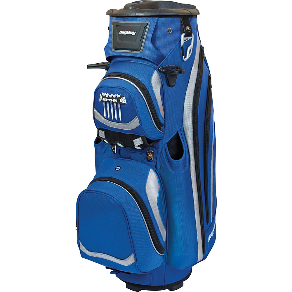 Bag Boy Revolver LTD Cart Bag Royal/Black - Bag Boy Golf Bags