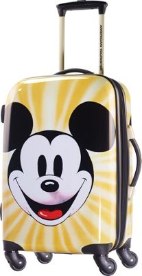 American Tourister Disney Mickey Mouse Hardside Spinner 21 inch Mickey Mouse Face - American Tourister Hardside Carry-On