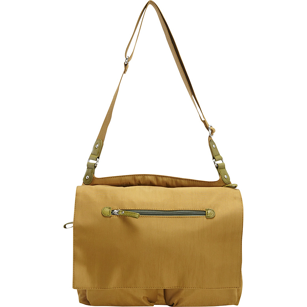 Osgoode Marley Flapped Messenger Pear Osgoode Marley Fabric Handbags