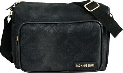 Jacki Design New Essential Messenger Bag Black - Jacki Design Messenger Bags