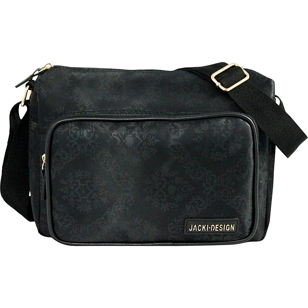 Jacki Design New Essential Messenger Bag Black Jacki Design Messenger Bags