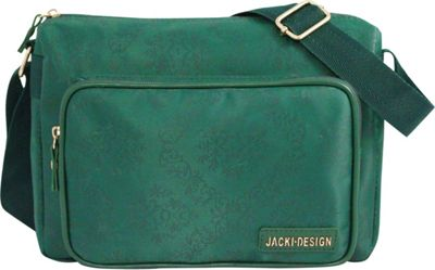 Jacki Design New Essential Messenger Bag Emerald - Jacki Design Messenger Bags