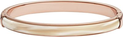 Fossil Shimmer Horn Bangle Rose Gold - Fossil Jewelry