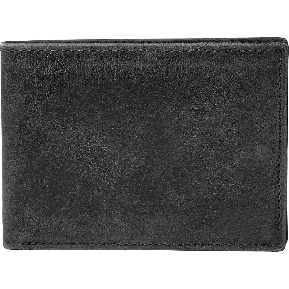 Fossil Anderson Front Pocket Bifold Black - Fossil Mens Wallets - Work Bags & Briefcases, Men's Wallets