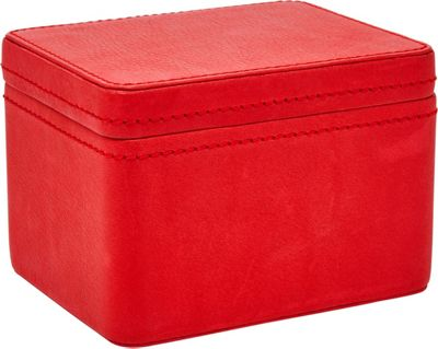 Fossil Two-Piece Watchbox Red - Fossil Luggage Accessories