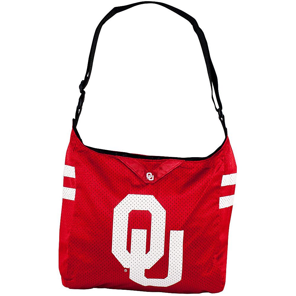 Littlearth Team Jersey Shoulder Bag - Big 12 Teams Oklahoma, U of - Littlearth Fabric Handbags - Handbags, Fabric Handbags