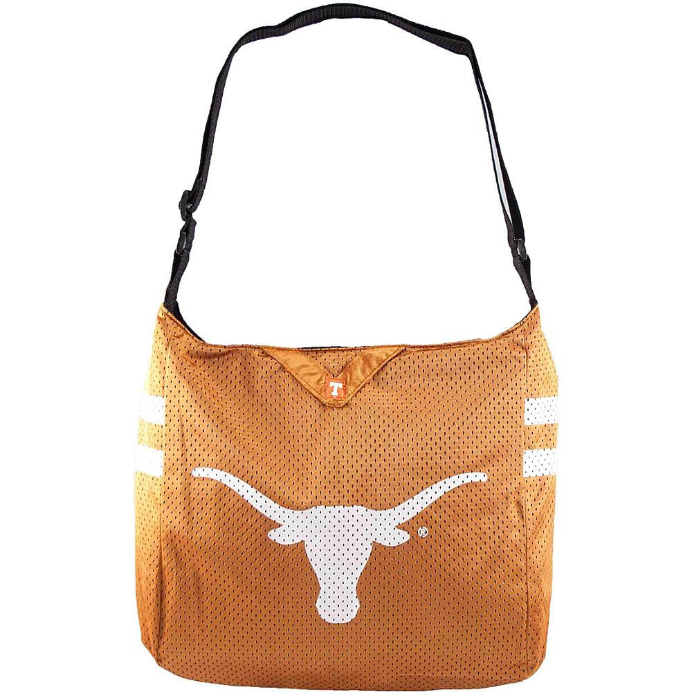 Littlearth Team Jersey Shoulder Bag - Big 12 Teams University of Texas - Littlearth Fabric Handbags - Handbags, Fabric Handbags