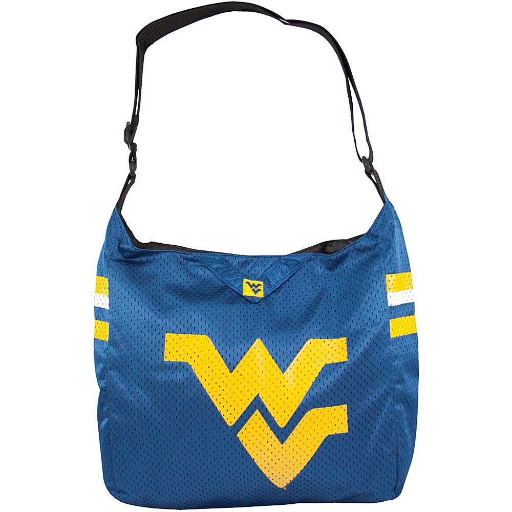 Littlearth Team Jersey Shoulder Bag - Big 12 Teams West Virginia University - Littlearth Fabric Handbags - Handbags, Fabric Handbags